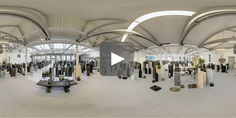 Ausstellung in 360 Grad Ansicht